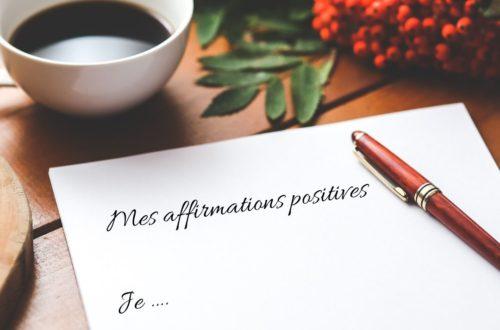 affirmations positives